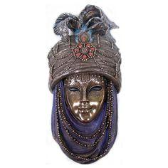 Máscara - Baile de carnaval original da cidade de Veneza / Itália Italian Masks, Venitian Mask, Carnival Venice, Masquerade, Samurai, Costumes, Mood, Jewelry, Fashion