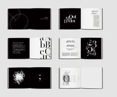 Didot Type Specimen Book Didot is an elegant and modern typeface. The design con… Didot Type Specimen Book Didot is an elegant and modern typeface. The design concept is to create an elegant atmosphere by using the black a… Design Typography, Creative Typography, Vintage Typography, Typography Poster, Lettering, Typography Letters, Design Poster, Graphic Design Layouts, Book Design Layout