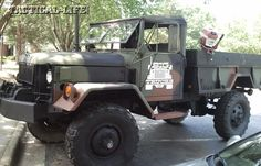 Pump up your military-surplus, 2.5-ton M35 ride for extreme off-roading and supreme disaster preparedness!