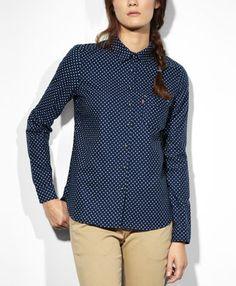 Levi's One Pocket Shirt - Diablo Night Dot - Blouses & Shirts