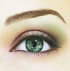 green eyes makeup my-style