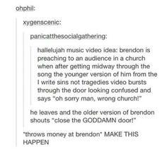 Pleeeeaaaasssseee redo the Hallelujah video and make it this