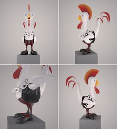 Rooster, Snowman, Disney Characters, Home Decor, Art, Art Background, Decoration Home, Room Decor, Roosters