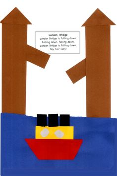 london bridge is falling down crafts for kids | London bridge is falling down…