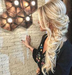 Instagram Fashion, Style Instagram, Instagram Posts, Boho Hairstyles For Long Hair, Hair Goals, Braids, Long Hair Styles, Beauty, Women