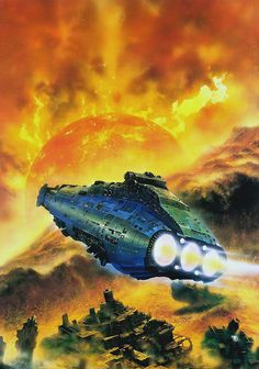 Chris Foss - The Sentinel by myriac, via Flickr | Click through for a larger image