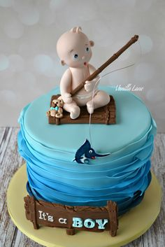 Fishing cake Torty prroda lov Pinterest Fishing cakes