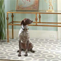 I need this rug!  Dash & Albert Circle Fret Tufted Wool Rug