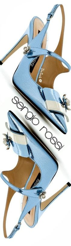 ❈Téa Tosh❈ Sergio Rossi slingback pumps #sergiorossi #teatosh