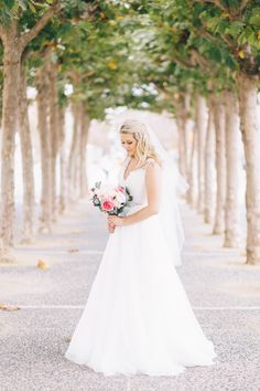 Bridal Portrait outside San Francisco City Hall. Wedding Photography in SF by JBJ Pictures