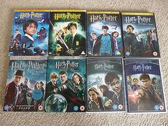 Harry #potter job lot all 8 movie dvd #collection 13 discs features #interviews,  View more on the LINK: http://www.zeppy.io/product/gb/2/152228630901/