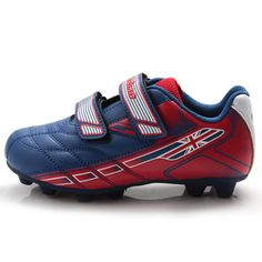 Tiebao Kids Breathable Firm-Ground Long Spikes Soccer Shoes Zapatos De  Fútbol 7b96f4c3bc5cf