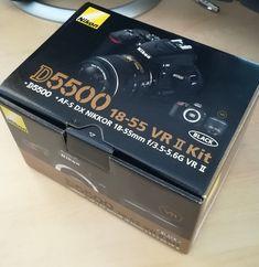 New Nikon D5500 24.2MP Digital SLR Camera Black (Kit w/ VR II 18-55mm Lens) #Nikon