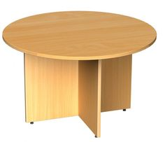 The #Dams #Arrowhead #Circular #Boardroom #Table is available in 5 finishes. Suitable for small #meetings #LOFDirect