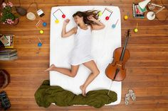 Enjoying Music in Dreams Photography