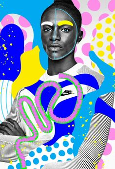 Best Film Posters : Andreea Robescu The Illustration Suite Illustration Mode, Photo Illustration, Medical Illustration, Pop Art, Photomontage, Digital Collage, Collage Art, Dina Asher Smith, Atelier Photo