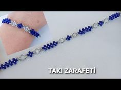 Making Bracelets With Beads, Crystal Bracelets, Bracelet Making, Seed Bead Jewelry, Bead Jewellery, Beaded Bracelet Patterns, Jewelry Making Tutorials, Bracelet Tutorial, Handmade Bracelets