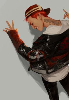 G DRAGON FANART #BigBang #GD