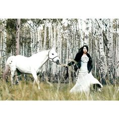 Hyoni Kang by Chris Nicholls for Flare December 2011 ❤ liked on Polyvore featuring horses, backgrounds, models, animals and people