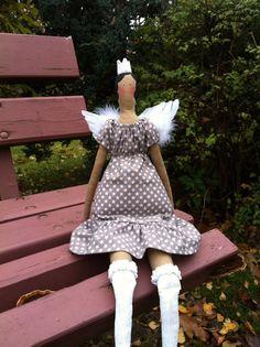 Tilda Angel Doll Princess Vintage Handicrafts by RoyalHandicrafts