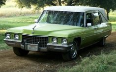 Claire's hearse from series Six Feet Under, one of the best tv shows eva!