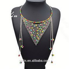 """stretch necklace crystal wholesale,Alabama State University necklace. Crystal Necklace"""