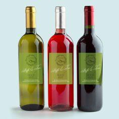 Weinetiketten - Flaschensticker: Gipfel des Glücks selbst designen. Hochzeitsextras passend zu den Hochzeitseinladungen