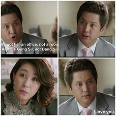 The Master's Sun hahahahha I love how this guy qualifies every contradictory statement....'sarangheyo'