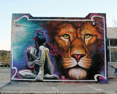 Wild Drawing | Street Art | Street Artists | Art | urban art | modern art | art | travel | graffiti | mural | Schomp MINI