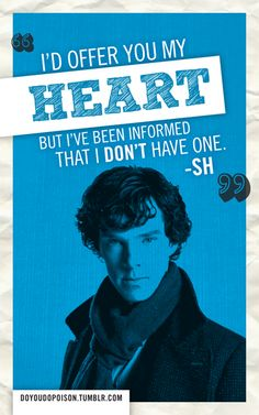 fan-made sherlock valentines. what i wouldn't give for benedict to be MY valentine...