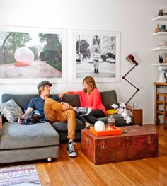 Artwork over couches | eight interiors