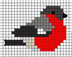 can be worked as a single & a 2 bead brick stitch. Cross Stitch Cards, Cross Stitch Animals, Cross Stitching, Cross Stitch Embroidery, Cross Stitch Freebies, Hand Embroidery, Knitting Charts, Knitting Stitches, Knitting Patterns