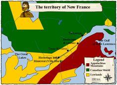 map of coureurs de bois - Google Search
