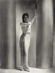 Horst P Horst, Alix Dress, Lud, 1938