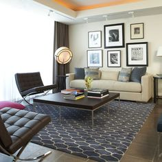 Tan Sofa Navy Carpet Design, Pictures, Remodel, Decor and Ideas - page 5