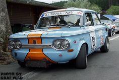 Wagen in GRT-Lackierung