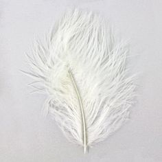 4-6 inch Crème Turkey Marabou Feathers | Fusion Beads
