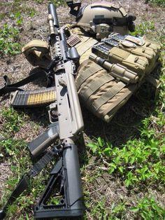 Custom AK-47 w/ Magpul Furniture ...
