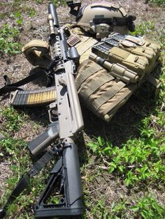 Custom AK-47 w/ Magpul Furniture ...