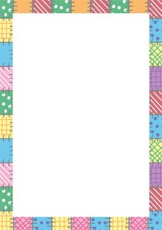 Early Learning Resources Elmer the Elephant Notepaper Frame Border Design, Page Borders Design, Binder Cover Templates, Binder Covers, Elmer The Elephants, School Border, Boarders And Frames, School Frame, Birthday Frames