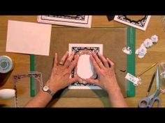 ▶ Craft Dies by Sue Wilson -- Tutorial Video - Gilded Aperture for Creative Expressions - YouTube