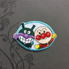 Anpanman Patch Embroidered Patch Iron On Patches sew on patches Cartoon patch