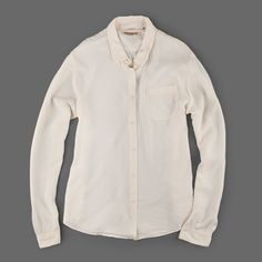 Levi's Made & Crafted - 1 Pocket Shirt in Alabaster Gleam