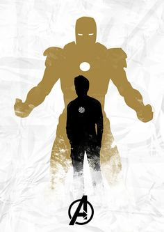 Iron Man by Owen Seago, via #Flickr #design #poster