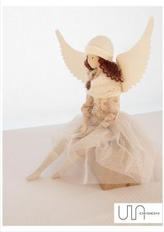 angel tilda handmade www.facebook.com/ula.design кукла интерьернаякукла тильда…