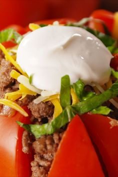 Taco Tomatoes Are Our New Favorite Low Carb Hack - Delish.com