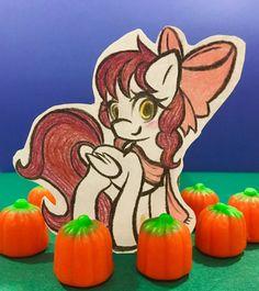 Pumpkin Patch Pony by EmbersLament.deviantart.com on @DeviantArt