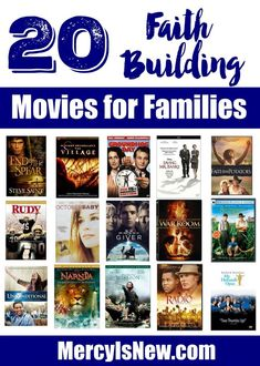 netflix movies 20 Faith Building Movies for Family Discussions Netflix Movies, Kid Movies, Great Movies, Movies To Watch, Faith Based Movies, Christian Films, The Bible Movie, Inspirational Movies, Movies Worth Watching