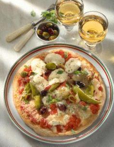 Das Rezept für Pizza mit vier Käse und weitere kostenlose Rezepte auf LECKER.de