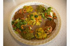 How to make an Ethiopian vegetarian feast.  Used http://www.epicurious.com/recipes/food/views/ethiopian-spice-mix-berbere-104015 for berbere spice